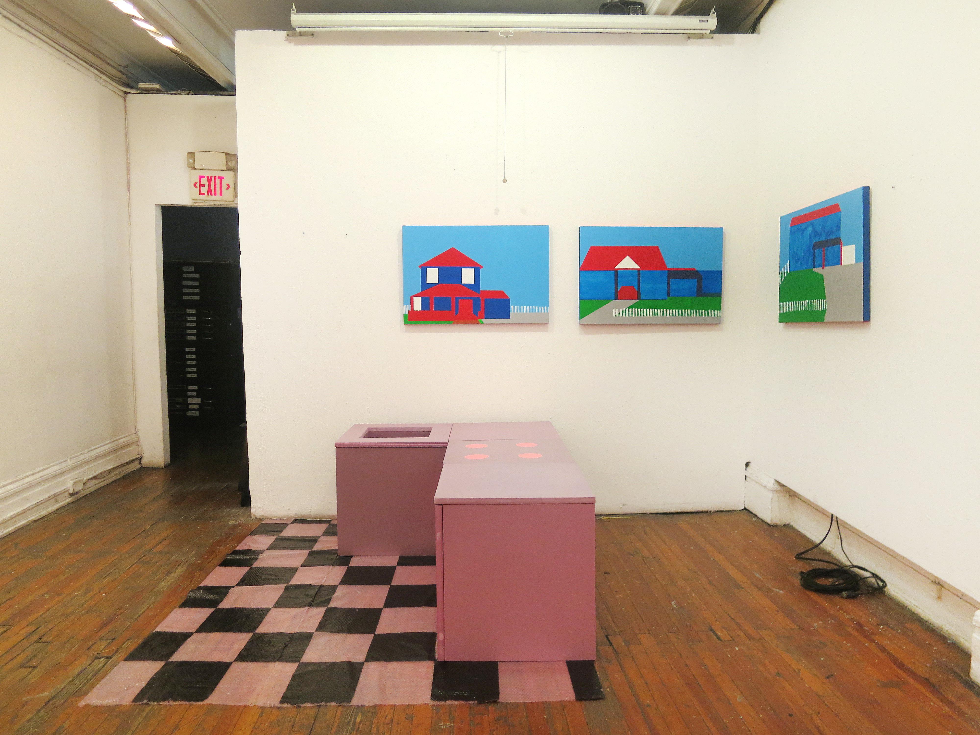 Solo exhibition at New York Studio School