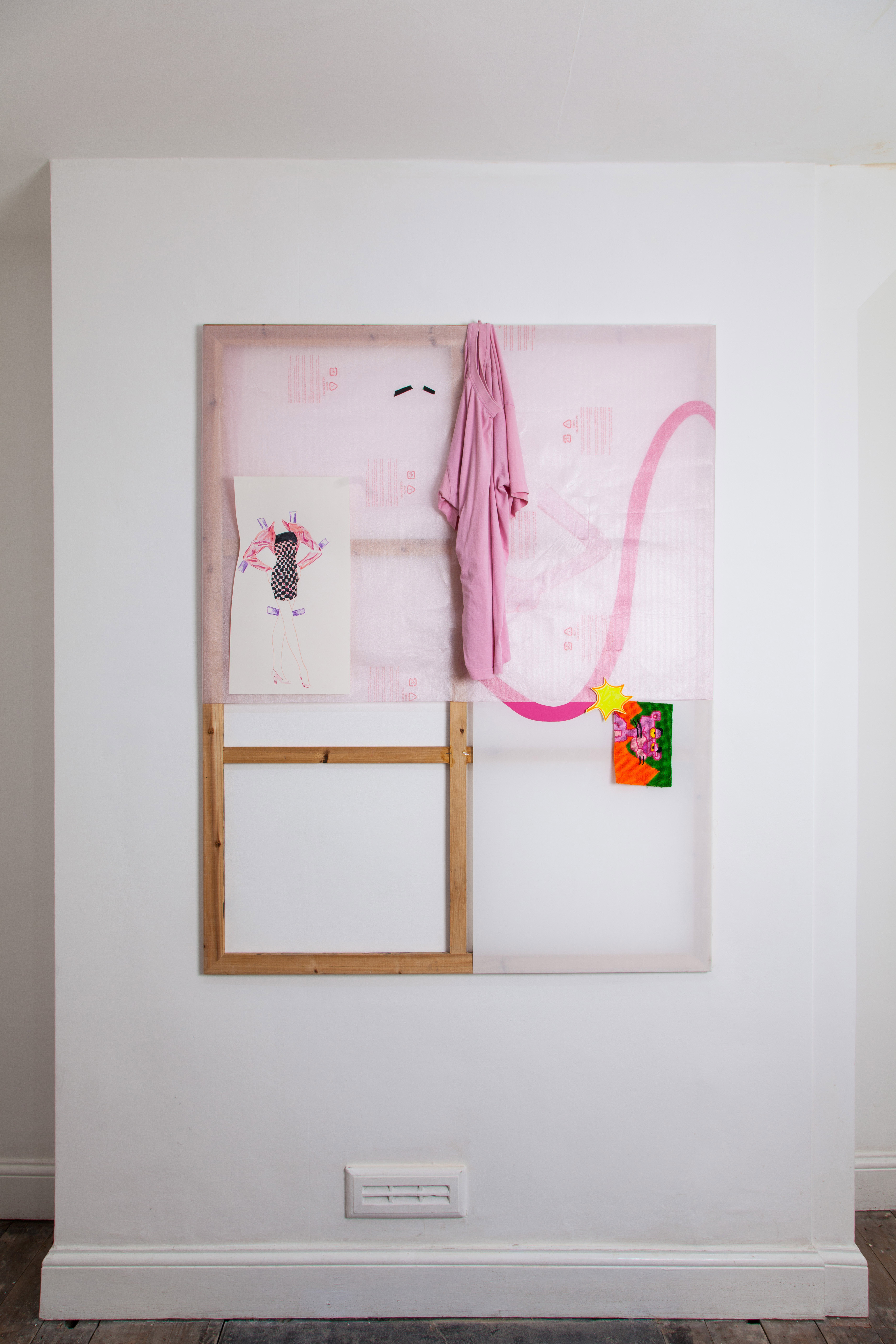 Installation shot of The Pink Panther Show 2018 at Gallery 46. Photograph by Ekphrasis © dateagleart 2018 _2 1
